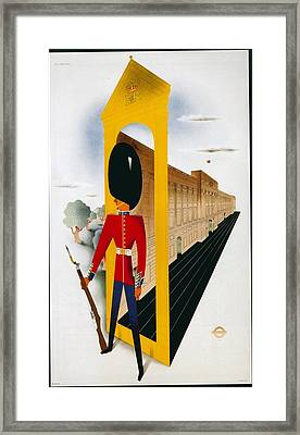 Classic Posters Framed Print by Vintage