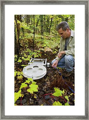 Climate Change Research Framed Print