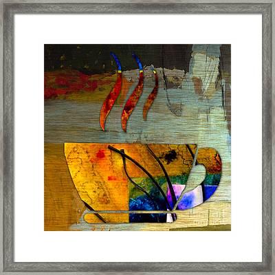 Coffee Framed Print by Marvin Blaine