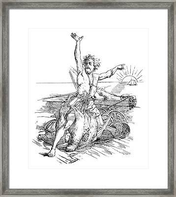 Coleridge Mariner Framed Print by Granger