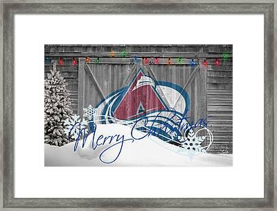 Colorado Avalanche Framed Print by Joe Hamilton
