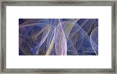 Colorful Figures Framed Print