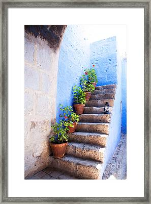 Colorful Old Architecture Details Framed Print by Yaromir Mlynski