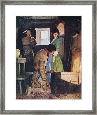 Cooper Deerslayer, 1925 Framed Print