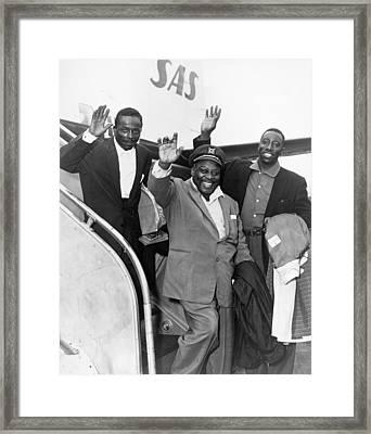 Count Basie (1904-1984) Framed Print