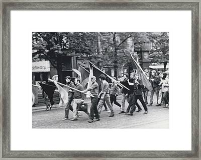 Cssr Occupied By Eastern Troops Framed Print by Retro Images Archive