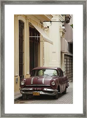Cuba, Havana, Havana Vieja, Morning Framed Print by Walter Bibikow