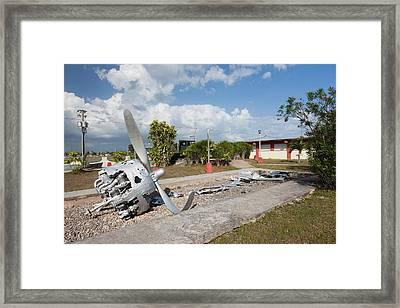 Cuba, Matanzas Province, Playa Giron Framed Print