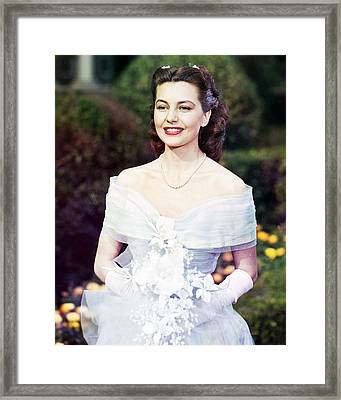 Cyd Charisse Framed Print by Silver Screen