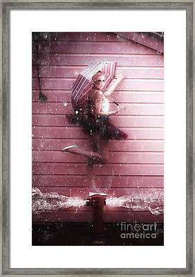 Dancer Framed Print by Jorgo Photography - Wall Art Gallery