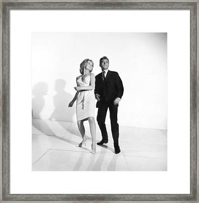 Dancing The Twist Framed Print by Underwood Archives