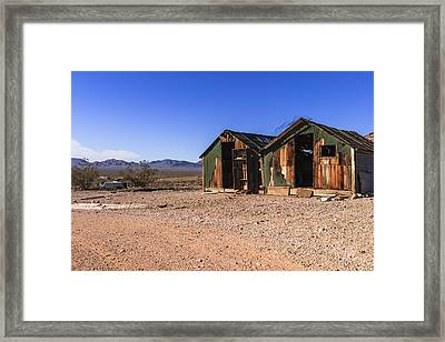 Death Valley Framed Print