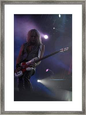 Def Leppard Framed Print by Jenny Potter