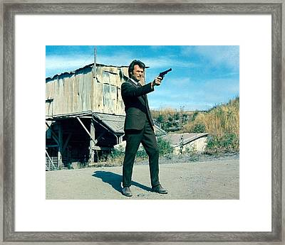 Dirty Harry  Framed Print by Silver Screen