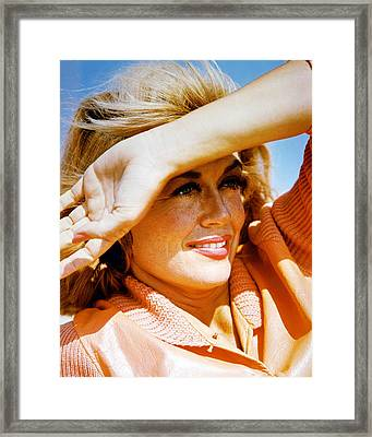 Dorothy Malone Framed Print