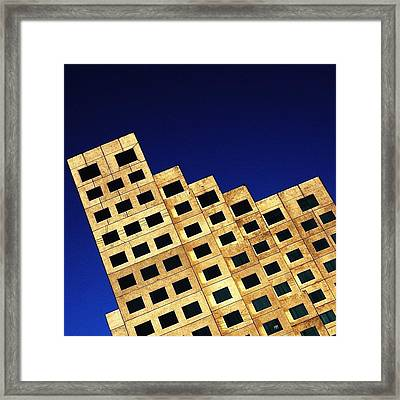 Downtown - Miami Framed Print