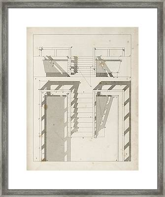 Drawing Shadows Framed Print