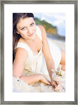 Dream Holiday Framed Print by Jorgo Photography - Wall Art Gallery