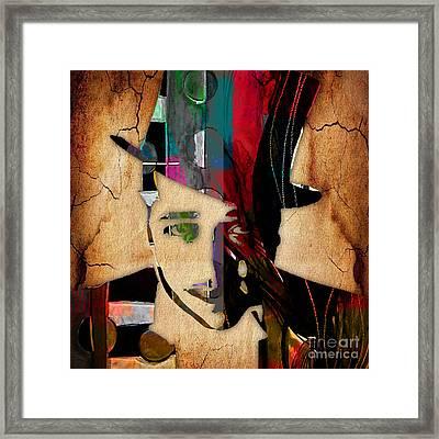 Duke Ellington Collection Framed Print by Marvin Blaine