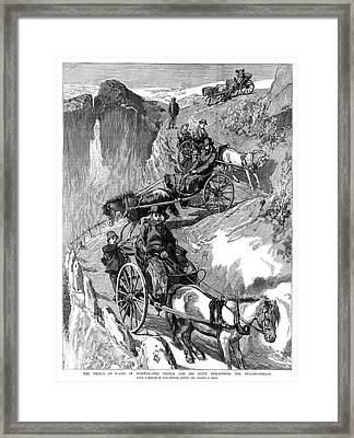 Edward Vii (1841-1910) Framed Print by Granger