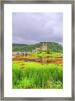Eilean Donan Castle Framed Print by Patricia Hofmeester