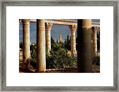 El Jem Framed Print