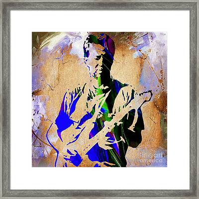 Eric Clapton Collection Framed Print