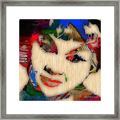 Etta James Collection Framed Print