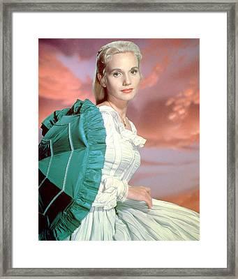 Eva Marie Saint Framed Print