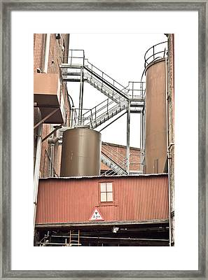 Factory Framed Print
