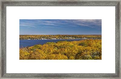 Fall In Door County Framed Print by Twenty Two North Photography