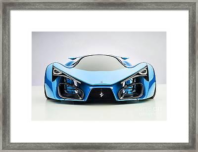 Ferrari F80 Framed Print