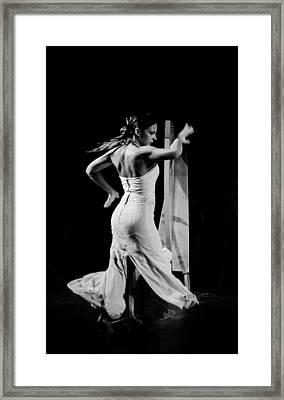 Flamenco Framed Print by Andrea Mazzocchetti