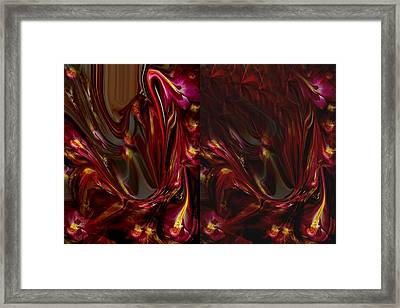 Flowers Framed Print by HollyWood Creation By linda zanini