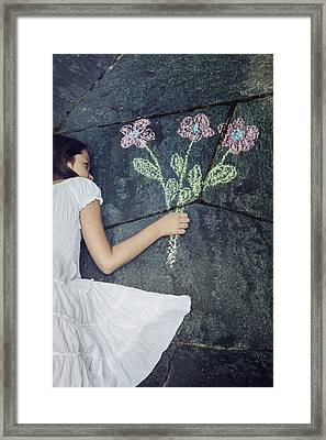 Flowers Framed Print by Joana Kruse