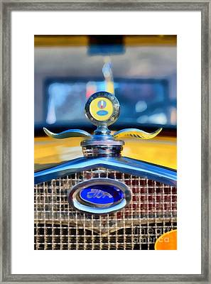 1930 Ford Model A Coupe Framed Print by George Atsametakis