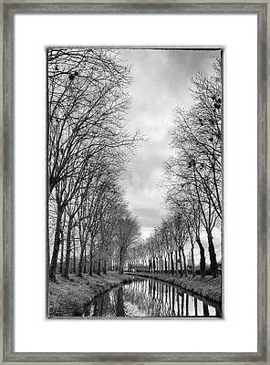 France, Burgundy, Nievre Framed Print by Kevin Oke