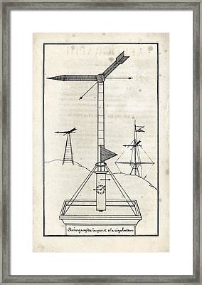 French Optical Telegraph System Framed Print by King's College London