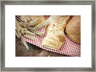Fresh Bread Framed Print