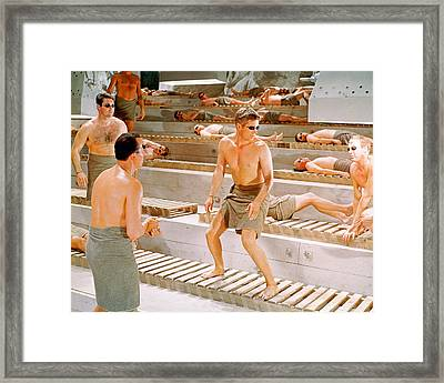 George Peppard Framed Print
