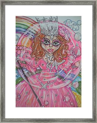 #5 Glinda The Good Witch Framed Print by Terri Allbright