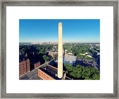 Hamms Land Of The Sky Blue Waters Framed Print by Greg Lehman