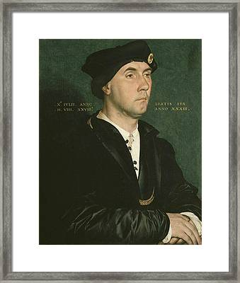 Holbein, Hans, The Younger 1497-1547 Framed Print by Everett