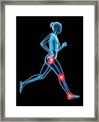 Human Joints Framed Print