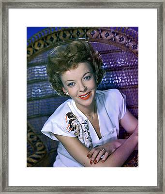 Ida Lupino Framed Print