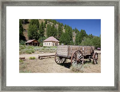 Idaho, Custer, (1880's Gold Mining Town Framed Print by Jamie and Judy Wild