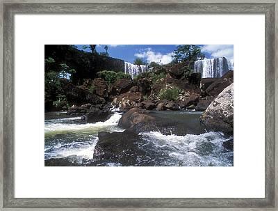 Iguazu Falls National Park, Argentina Framed Print by Javier Etcheverry / Vwpics