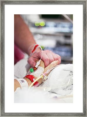 Intensive Care Unit Framed Print by Life In View