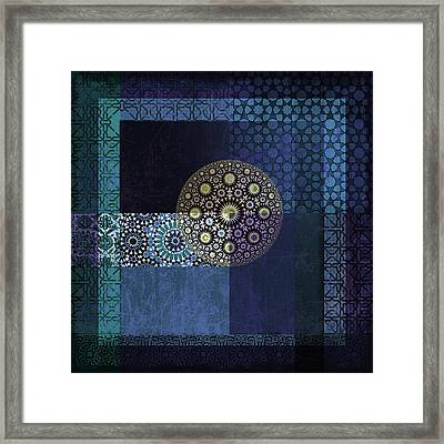 Islamic Motives Framed Print by Corporate Art Task Force