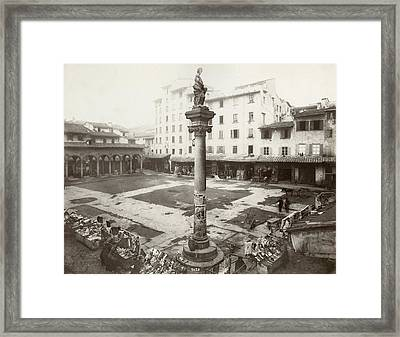 Italy Florence Framed Print